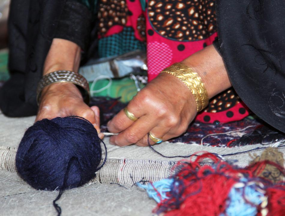 Carpet Waving