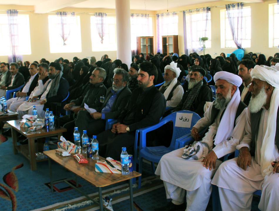 Inauguration of Zanan Herat Silk production company