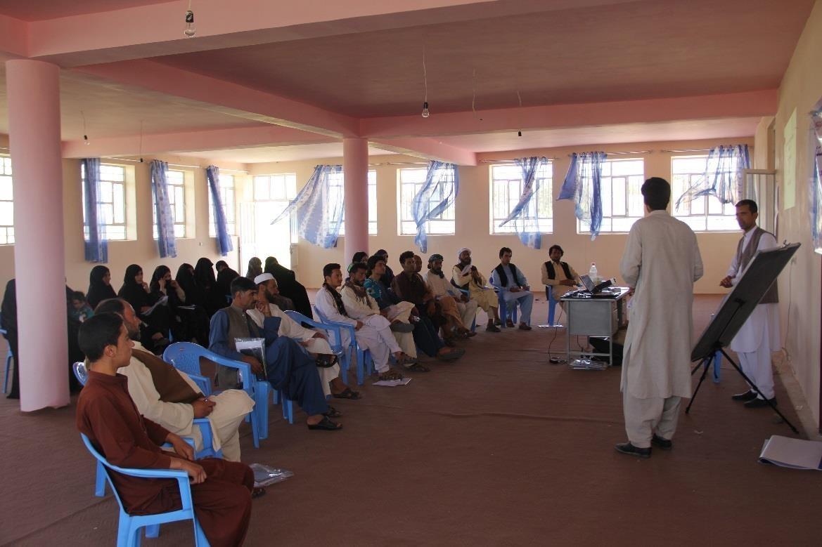Improving Afghan Civic Education for Good Governance